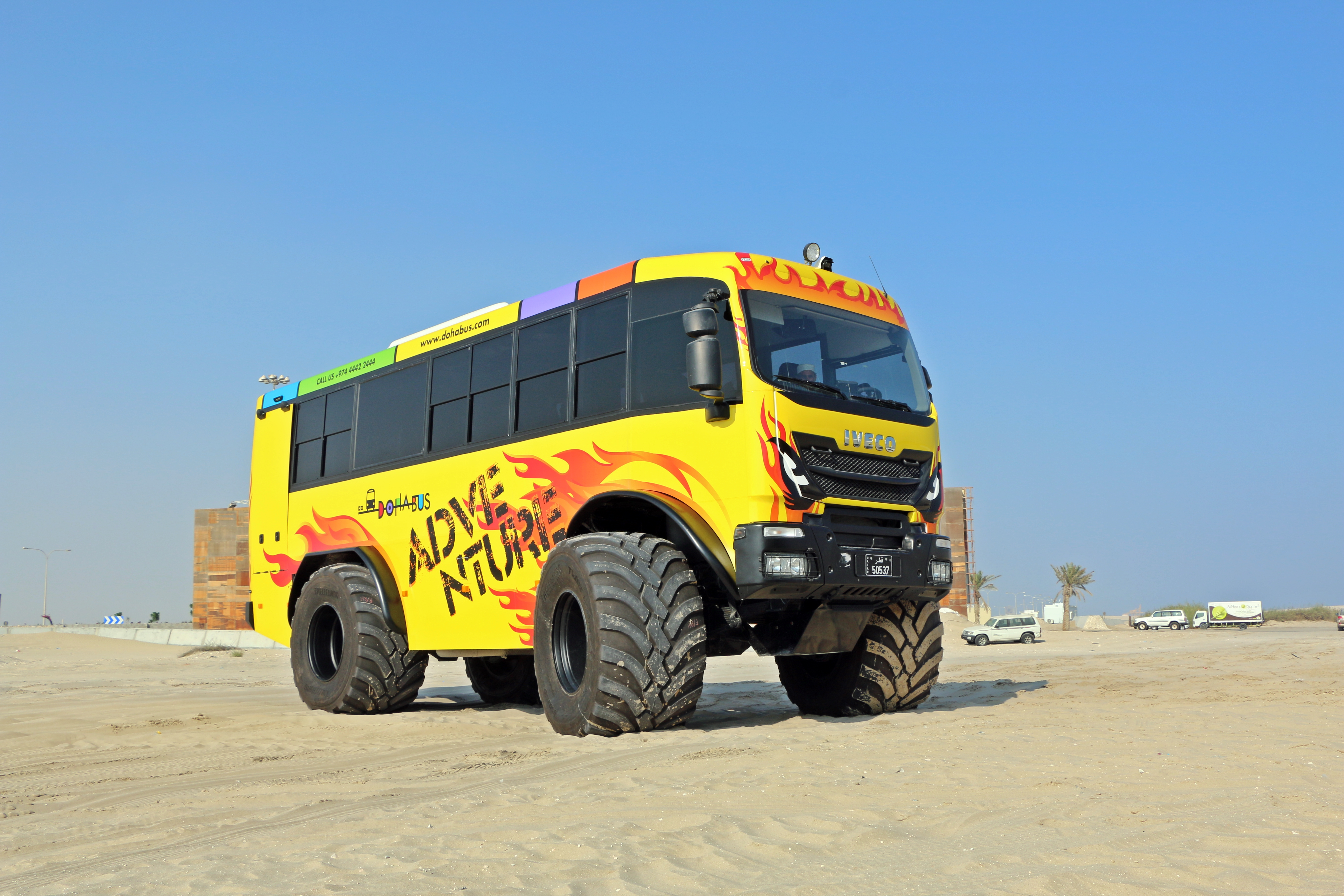 Bus 4x4 Doha Bus Dune Killer