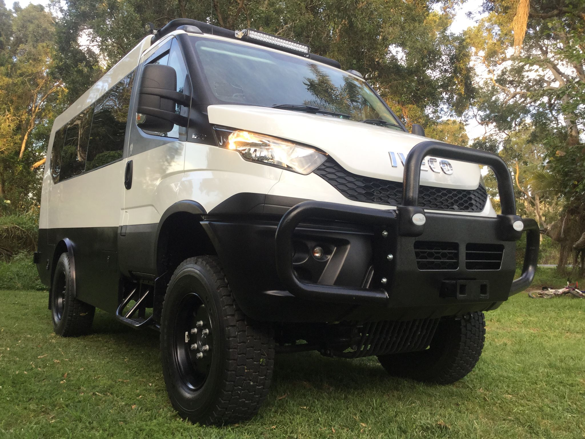 Ford Passenger Van >> Iveco Daily 4x4 Mini Bus - 4x4 Tour Bus